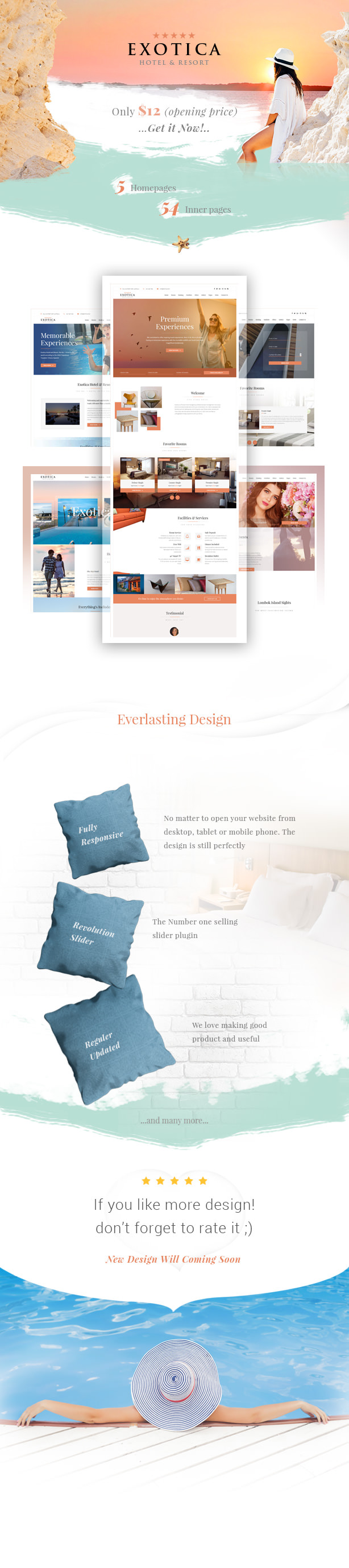 booking, clean, event, hotel, interactive, isotop, modern, parallax, reservation, resorts, simple, vacation